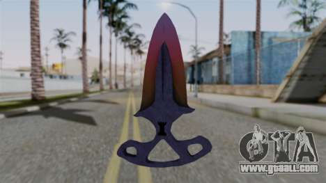 Shadow Dagger Gradient for GTA San Andreas second screenshot