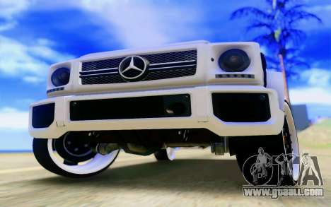 Mercedes-Benz G65 AMG for GTA San Andreas engine