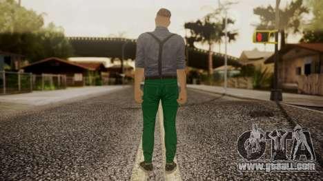 GTA Online Skin Hipster for GTA San Andreas third screenshot