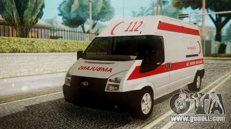 Ford Transit Jumbo Ambulance for GTA San Andreas