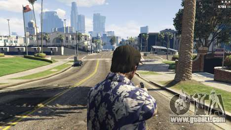 GTA 5 Forced First Person Aim 1.0.6 fourth screenshot