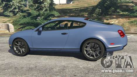 GTA 5 Bentley Continental Supersports [Beta2] left side view