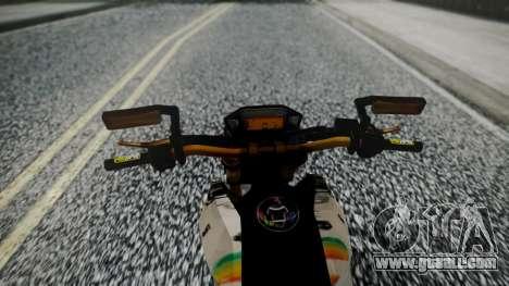 Honda MSX 125C Khmer for GTA San Andreas right view