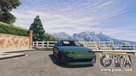 Nissan 240sx v1.0 for GTA 5