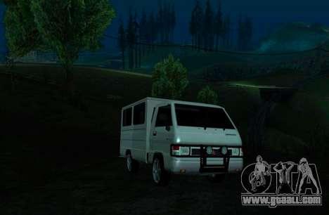 Mitsubishi L300 FB Van for GTA San Andreas left view