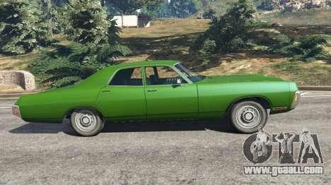 GTA 5 Dodge Polara 1971 v1.0 left side view