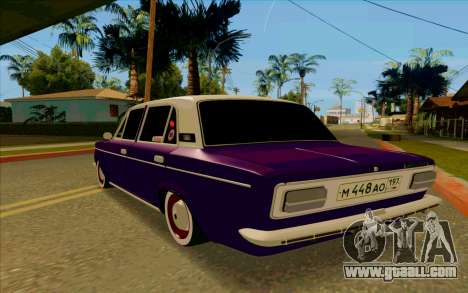 VAZ 2103 Eggplant for GTA San Andreas right view