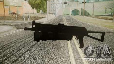 PP-19 Battlefield 3 for GTA San Andreas second screenshot