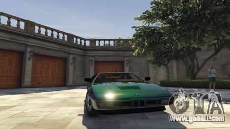 BMW M1 1979 (E26) v1.9.1 for GTA 5