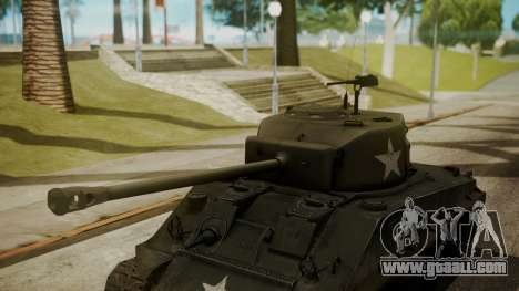 M4A3(76)W HVSS Sherman for GTA San Andreas right view