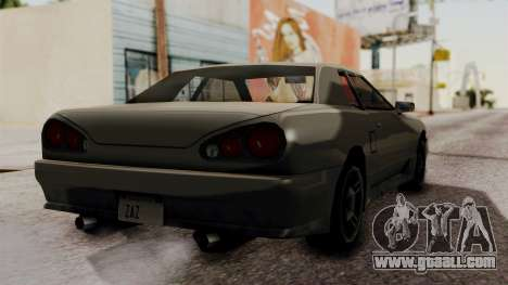 Elegy The Gold Car 2 for GTA San Andreas left view