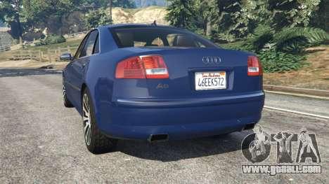 Audi A8 for GTA 5