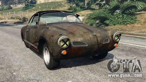 Volkswagen Karmann-Ghia Typ 14 for GTA 5