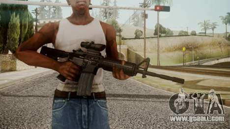 M4 by catfromnesbox for GTA San Andreas third screenshot