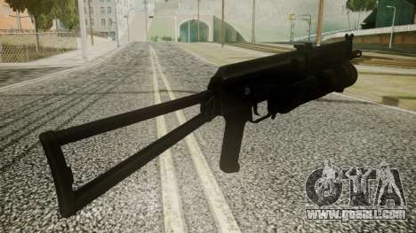 PP-19 Battlefield 3 for GTA San Andreas third screenshot