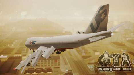 Boeing 747-200 Fly US for GTA San Andreas left view
