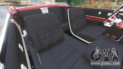 GTA 5 Cadillac Eldorado right side view