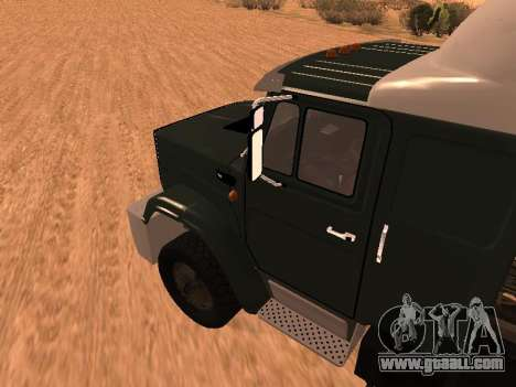 ZIL-133 05A for GTA San Andreas back left view