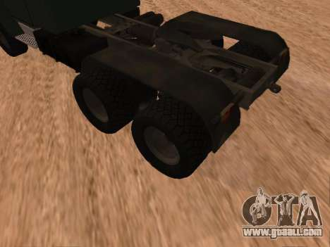 ZIL-133 05A for GTA San Andreas right view