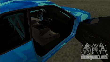 Nissan Skyline R32 Drift Blue Star for GTA San Andreas back left view