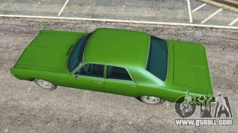 GTA 5 Dodge Polara 1971 v1.0 back view