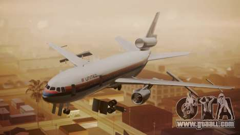DC-10-10 United Airlines (80s Livery) for GTA San Andreas