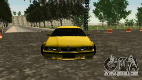 BMW 320i E36 Wide Body Kit for GTA San Andreas left view