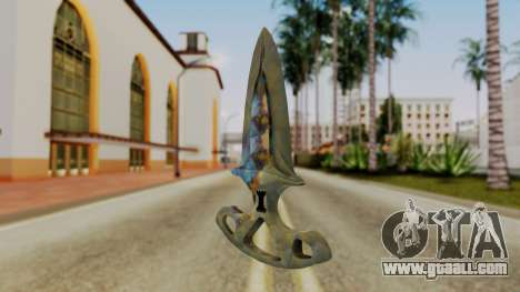 Shadow Dagger Surface hardening for GTA San Andreas