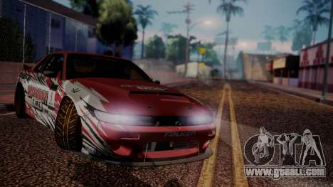 Nissan 240SX D.Yoshihara for GTA San Andreas right view