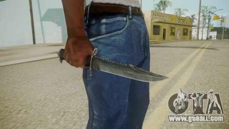 Atmosphere Knife v4.3 for GTA San Andreas third screenshot