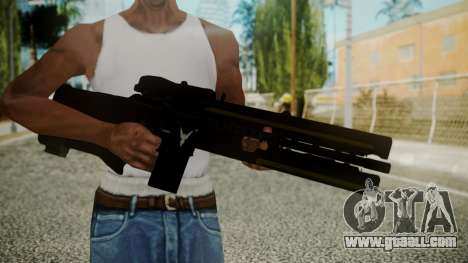 VXA-RG105 Railgun with Stripes for GTA San Andreas