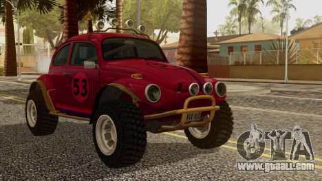 Volkswagen Beetle Baja Bug for GTA San Andreas