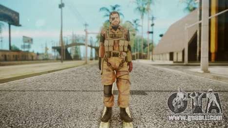 Venom Snake Golden Tiger for GTA San Andreas second screenshot