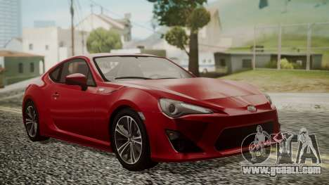 Toyota GT86 2012 LQ for GTA San Andreas