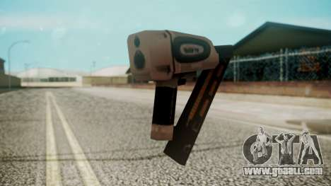 Nail Gun from Resident Evil Outbreak Files for GTA San Andreas second screenshot