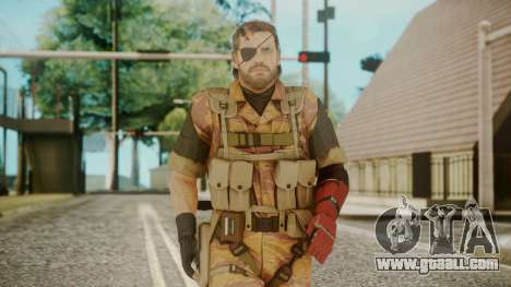 Venom Snake Golden Tiger for GTA San Andreas