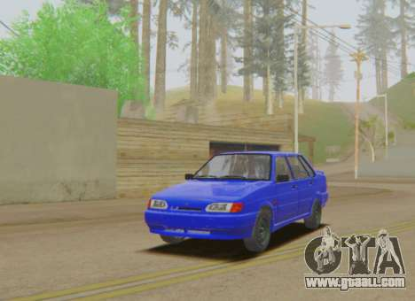 VAZ 2115 Runoff for GTA San Andreas
