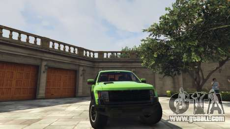 Ford F150 SVT Raptor 2012 v2.0 for GTA 5