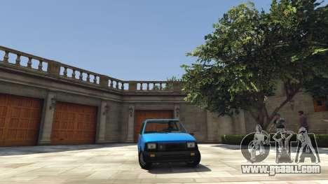 VAZ 1111 Oka for GTA 5