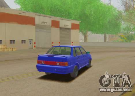 VAZ 2115 Runoff for GTA San Andreas left view
