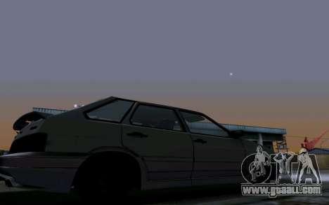 2114 Turbo for GTA San Andreas wheels