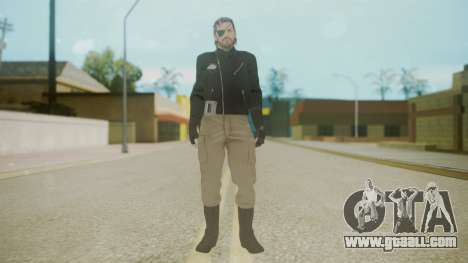 Venom Snake [Jacket] Bast Arm for GTA San Andreas second screenshot