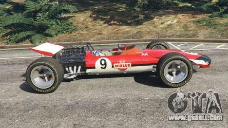 GTA 5 Lotus 49 1967 [ailerons] left side view