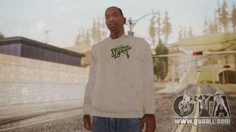 Sprunk Sweater Gray for GTA San Andreas second screenshot