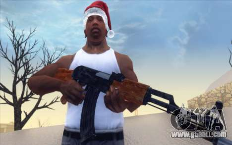 Realistic Weapons Pack for GTA San Andreas second screenshot