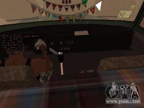ZIL-133 05A for GTA San Andreas bottom view