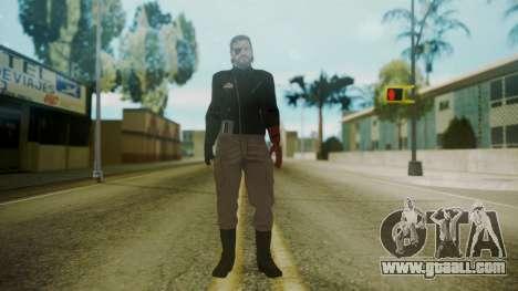 Venom Snake [Jacket] for GTA San Andreas second screenshot