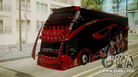 Bus Iron Man for GTA San Andreas