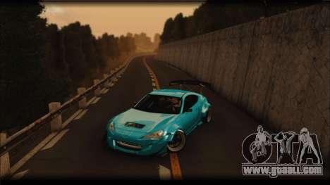 Toyota GT86 Customs Rocket Bunny for GTA San Andreas