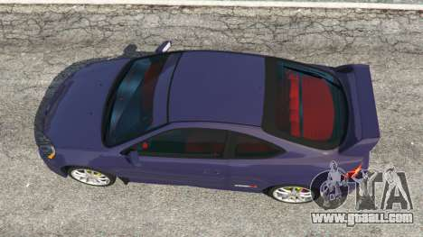 GTA 5 Honda Integra Type-R without license plate back view